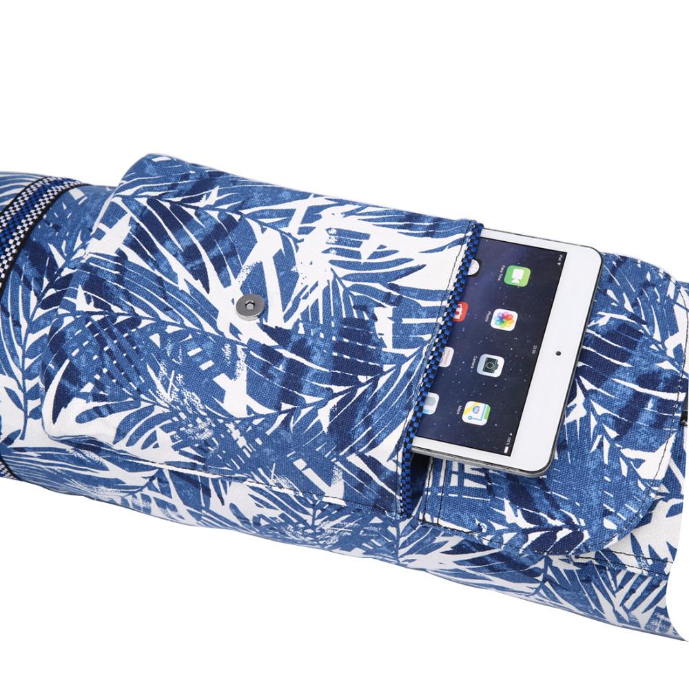 ce sac de yoga est très simple à ouvrir est prend peu de place
