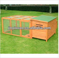 Large Wooden Chicken Coop Hen House Nest Huge Run Backyard Poultry Cage/pet house