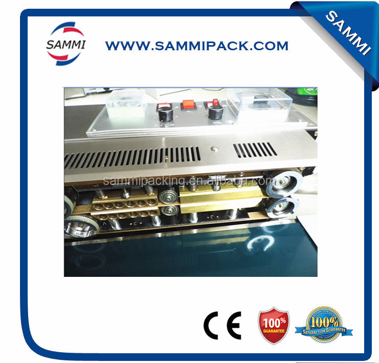 hot selling Solid ink band sealing machine