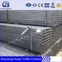 130*130mm galvanized steel square pipe for building structure