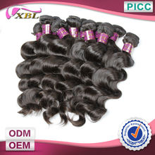 XBL Wholesale Raw Hair Loose Wave Grade 6a Human Hair Unprocessed Brazilian Hair