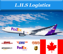 Fast DHL/TNT/UPS/FEDEX/EMS/ARAMEX express freight forwarder from China to Canada