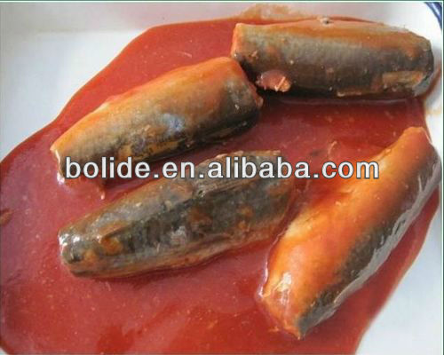 425g canned mackerel fish in tomato sauce