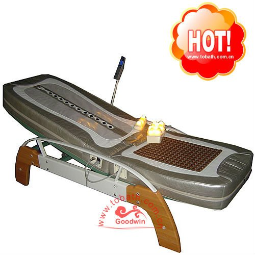 2015 Hot Sale Thermal Therapy Jade Roller Massage Bed GW-JT06