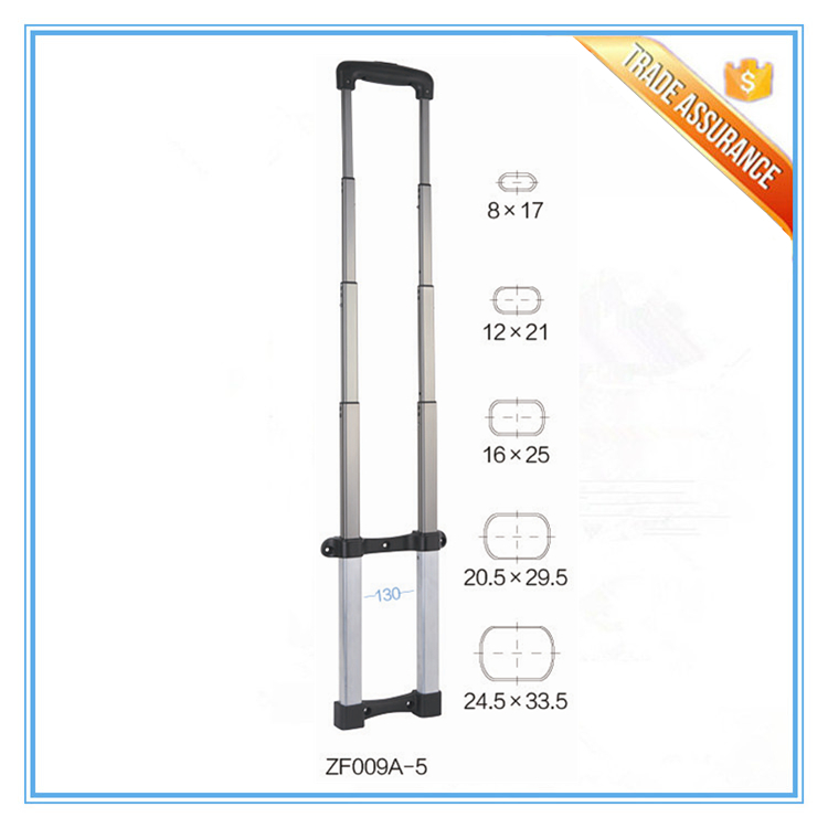Durable Aluminum Luggage Telescopic Trolley Handle for Suitcase