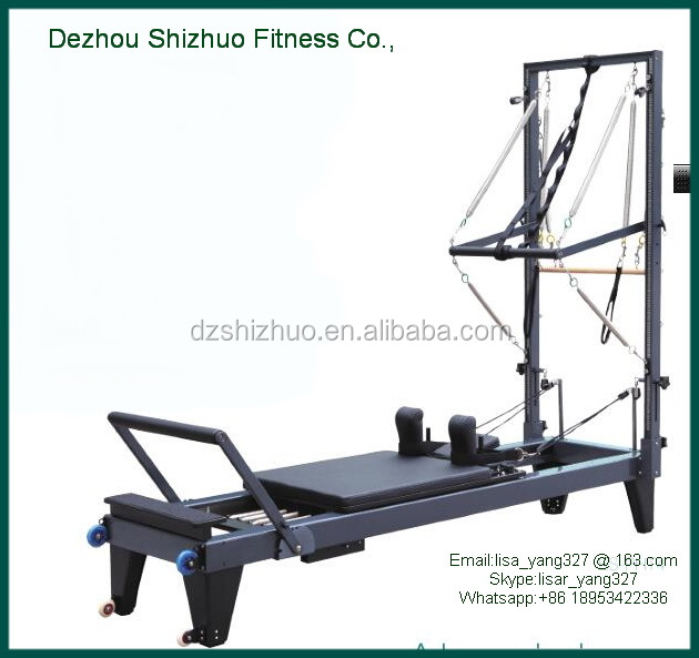 Pilates Reformer Of Aluminium With Tower SRP06/Reformer/Reformer Pilates
