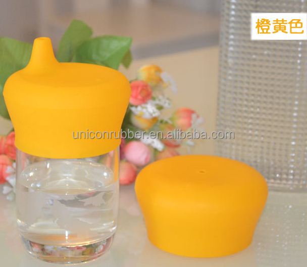 hot selling food grade wholesale silicone sippy lid