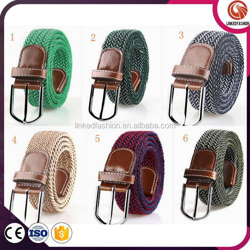 High quality Elastic High Stretch woven rope Arrow pattern braided <strong>belt</strong>
