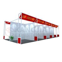 3x3m aluminum trade show /exhibition stall