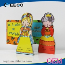 Wholesale thick Paper Board custom coloring childrens story books