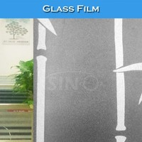 S022 1.22x50M Window Colored Print Glass Opaque Film