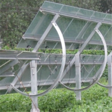 ground mounting rail bracket flexible solar panel solar pv power