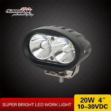 20w Cree blue led headlights for forklifts spotlight