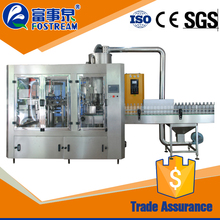 China manufacture automatic turnkey bottle water filling plant/ filler machine plastic