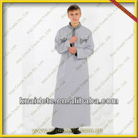Reasonable Price For Men Arab Thobe Omani Style Saudi Thobe Islamic Men Thobe for sale KDT506