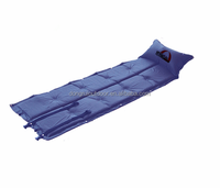 Outdoor Blow-up Lilo Folding Splicing Inflatable Pad with Pillow