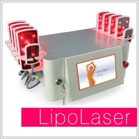 Best Pro Price Dual Wavelength 650nm 980nm Cold Lipo Laser Machine With Touch Screen Fda Approved