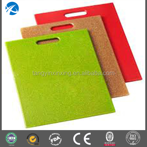 Wear resisting soft flexible chopping boards can hanging