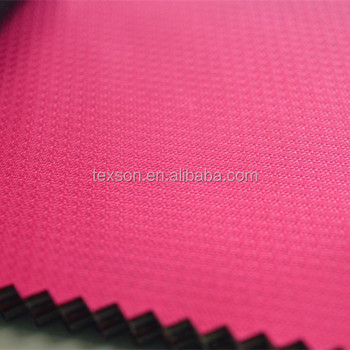 fdy 200d polyester oxford fabric polyester jacquard fabric with PU coated