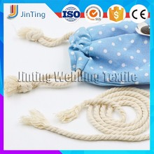 natural color braid cotton rope 5mm packing rope