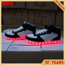 Customized adults led shoes with low price