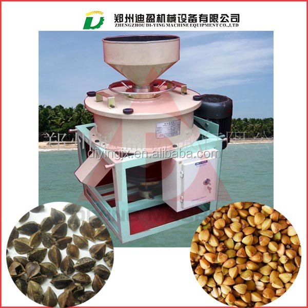 Good quality buckwheat hulling machine / buckwheat dehulling machine