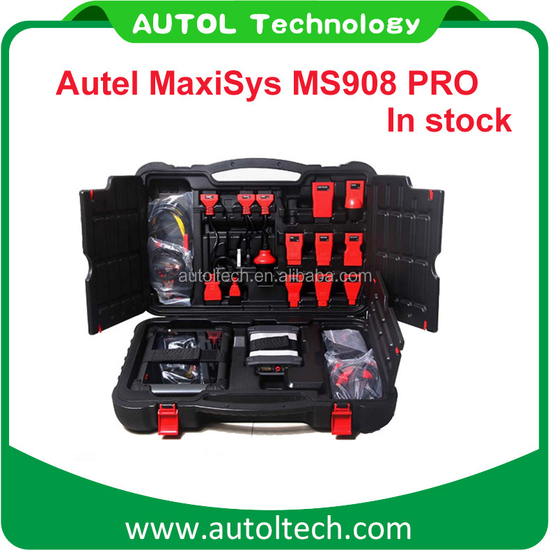 100% Original Autel MaxiSys Pro MS908P OBD2 Car Diagnostic / ECU Programming Tool J-2534 Reprogramming Box With WiFi Free Update