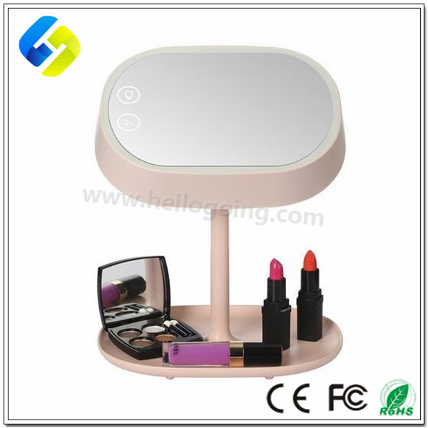 New Style table lamp Vanity Mirror Touch Screen Lighted Cosmetic Makeup Mirror LED Lamps