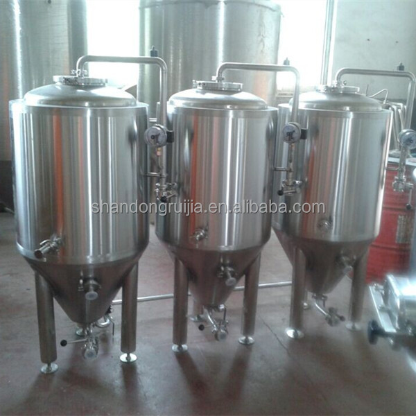 stainless steel 25 gallon beer fermenter