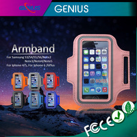 Wholesale Products Mobile Accessories Soft lycra Material Sport Armband for Samsung Comfortable Exercise Armband Case for apple