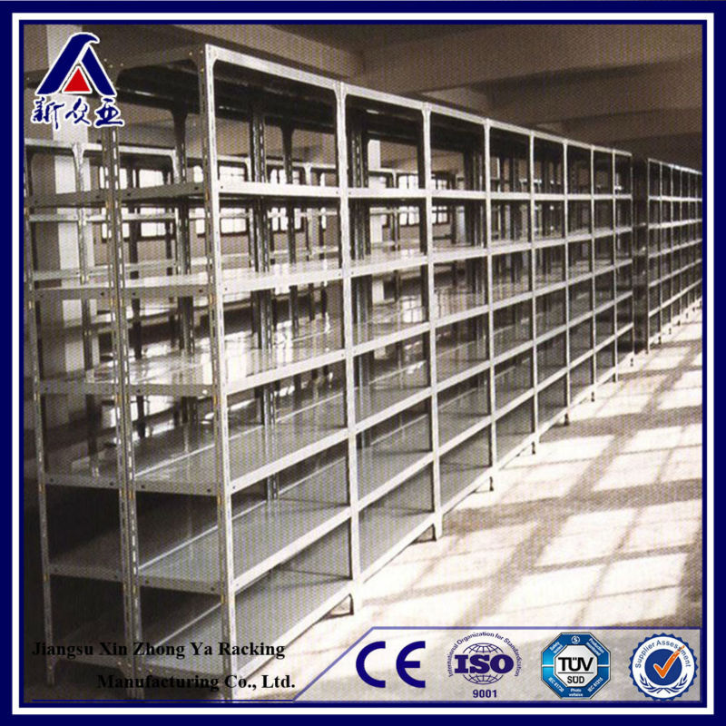 economical multi-level boltless steel shelving