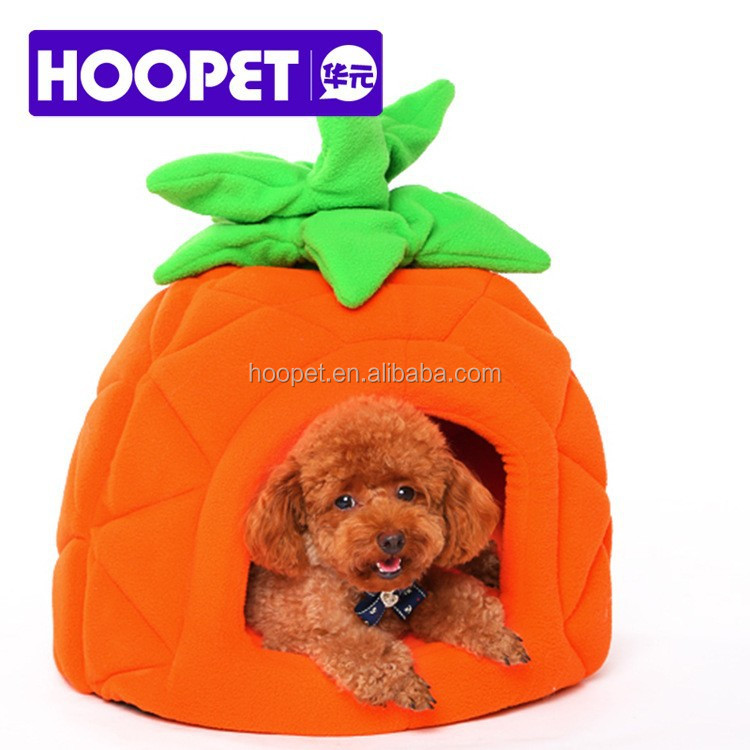 Cute pineapple shaped dog house for sale dog fruite beds