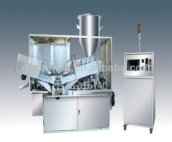Inner-heating Filling and Sealing Machine for sealing plastic tubes