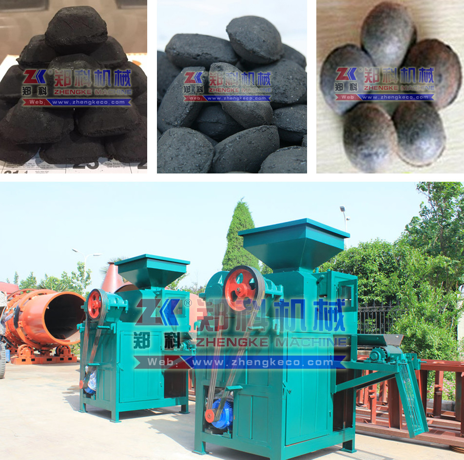 ZKBM360 BBQ coal charcoal powder briquetting plant manufacturer(WhatsApp: +86-13213105574)