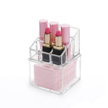 2 Layer Transparent Acrylic Square lipstick Storage Box
