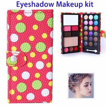 Wholesale Private Label Packaging 18 Color Anti-Blooming Makeup Blusher Eyeshadow Palette