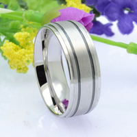 China Factory Custom Wholesale 316L Stainless Steel Ring Jewelry