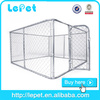 10x10x6 foot classic galvanized heady duty dog kennel/cheap chain link dog kennels/dog house factory