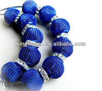 Fashion Blue Mesh beads&Square rhinestones beads Earrings!! Jewelry Paparazzi Styles Basketball wives Earrings!! Paypal!! !!