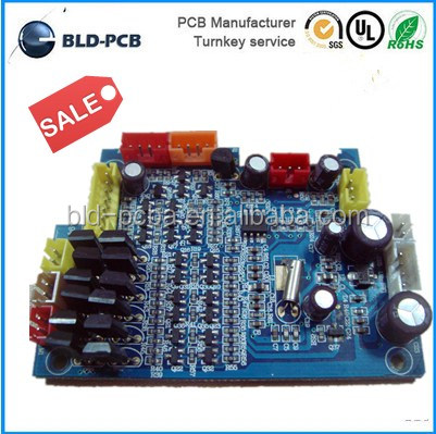 HASL 2 layer FR4 94v0 rohs rigid Pcb electronic circuit board