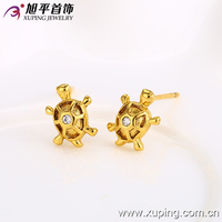 fashion special price 24K gold color earring