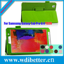 10 Colors Tablet Stand Leather Case For Samsung Galaxy Tab Pro T320