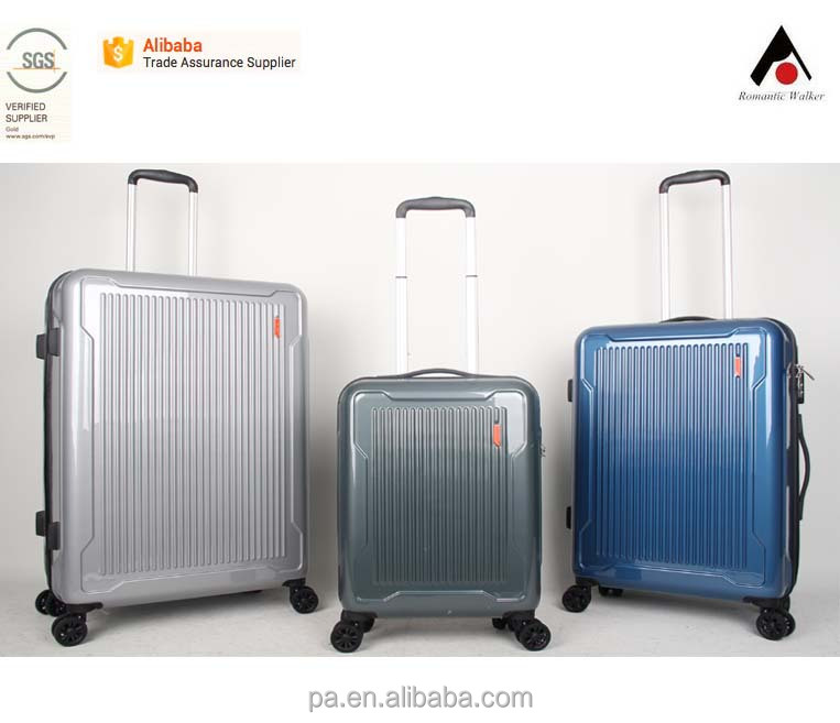 ABS + PC Suitcase scooter wheeled cabin luggage with factory price