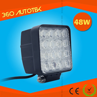 Hot Sell 4.5 inch Heavy Duty auto led lights 48W 12V LED Work Light with Magnet Base