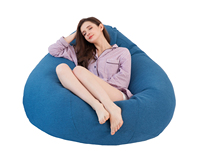 Lazy Lounger Puff Large Bean Bag