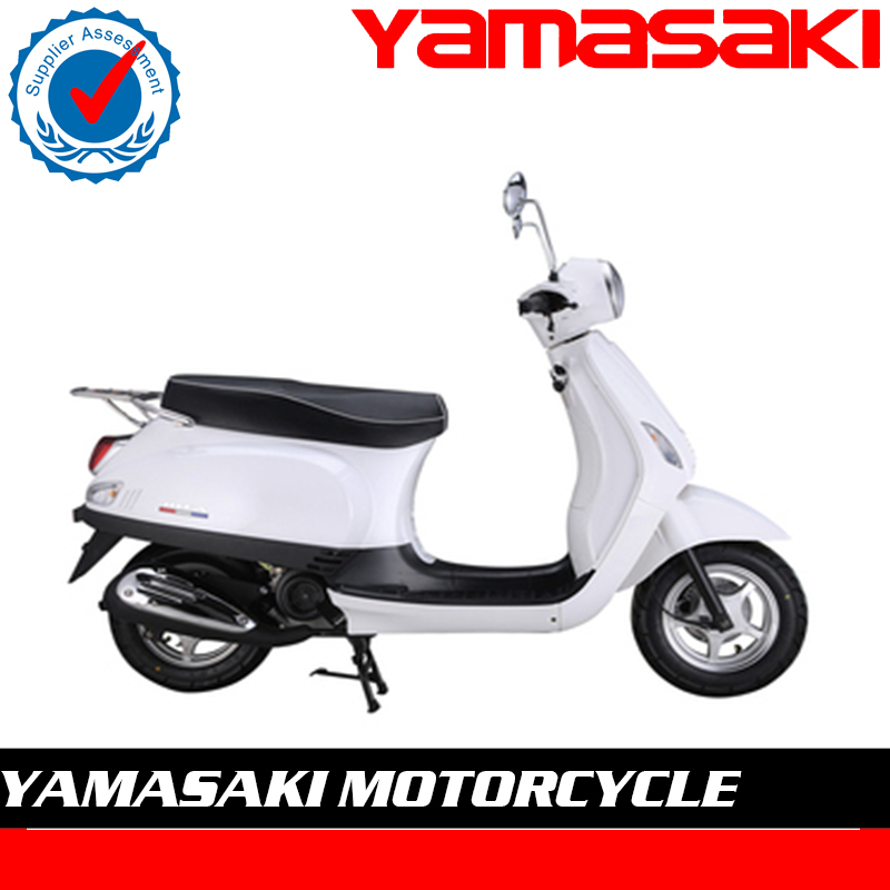 Hot selling 50cc Classic vespa gas scooter with EEC