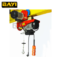 small electric hoist with trolley;Complete certificates;100kg-1200kg;110v/220v power supply;Household electrical applicable