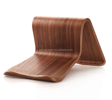 Simple and new design universal wood mobile phone laptop holder