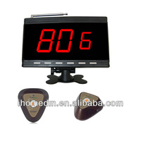 high tech digital electronic hot sale calling system waiter