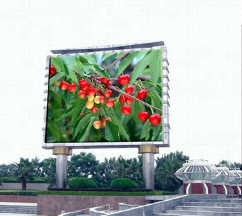 10mm 10ft x 24ft 1 by 2 Meters Roadside Digital Advertising Outdoor LED Screen